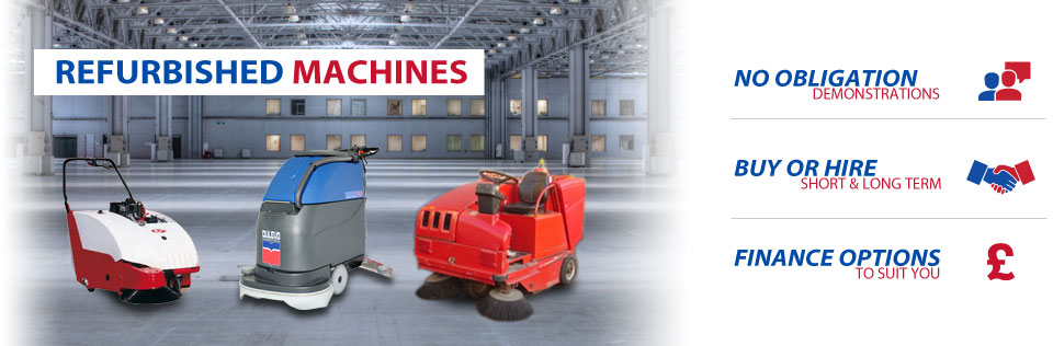 Refurbished Cleaning Machines